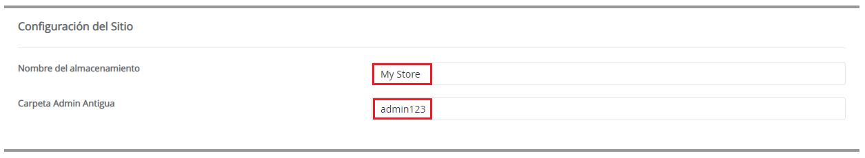 Configuración del Sitio Prestashop hostingbigmaker
