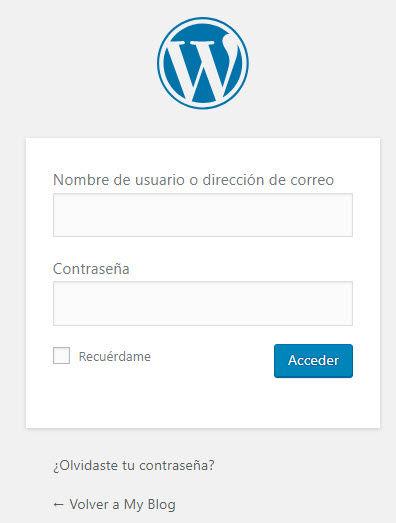 Resetear Contraseña WordPress hostingbigmaker