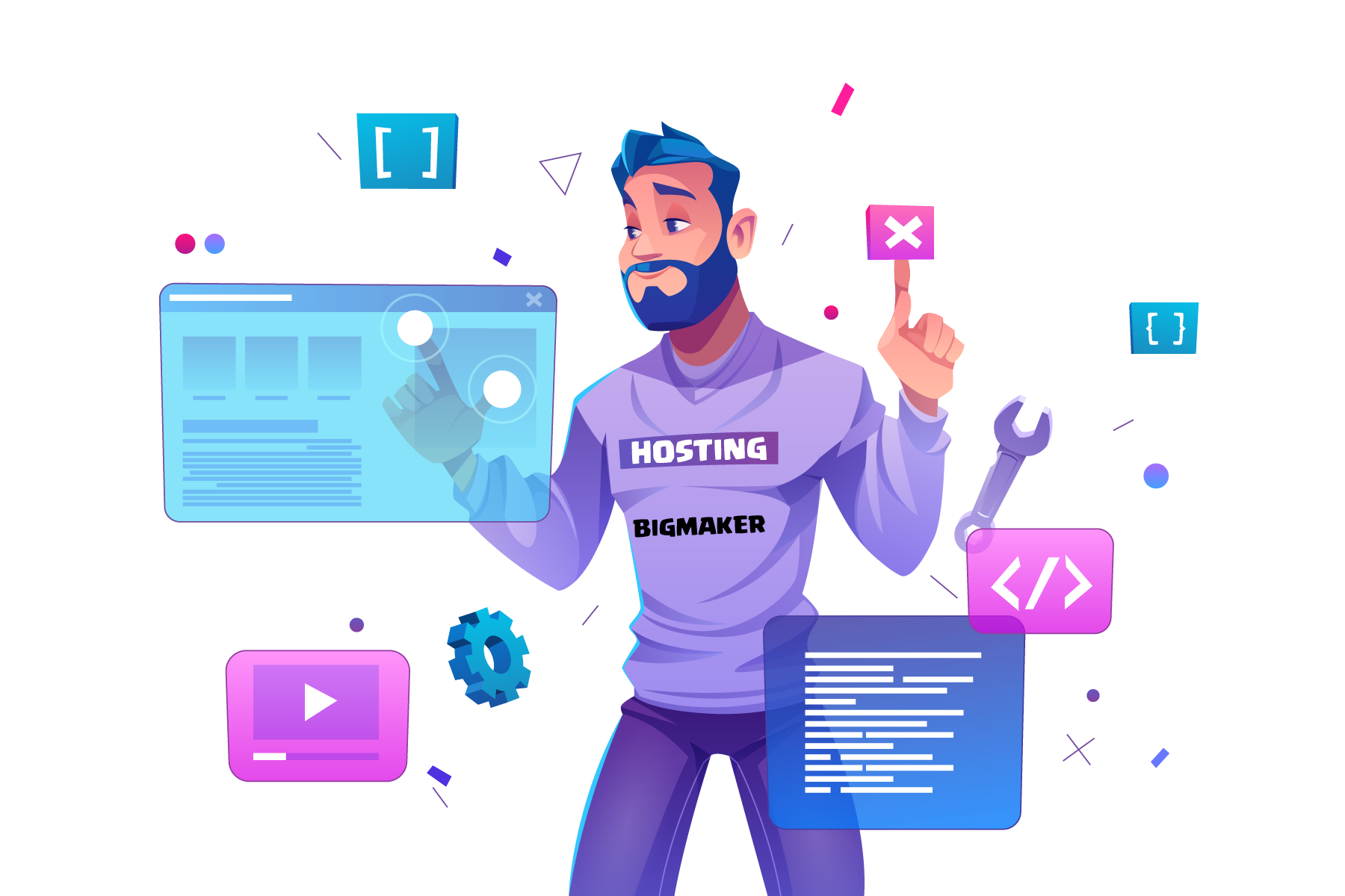 Web hosting bigmaker 2021